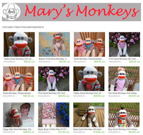 Mary's Monkeys: marysmonkeys.com